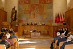Předávání cen a medailí, Velká aula Karolina